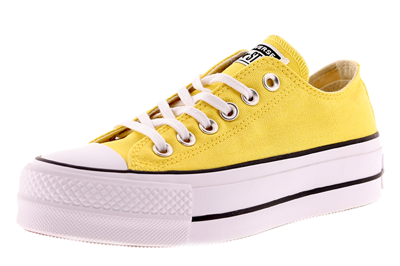 converse all star amarillas mujer