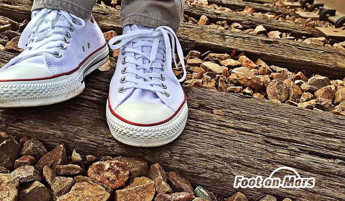 Zapatillas blancas o cómo acertar seguro