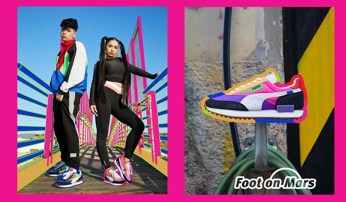 Puma presenta las nuevas zapatillas Future Rider y Style Rider
