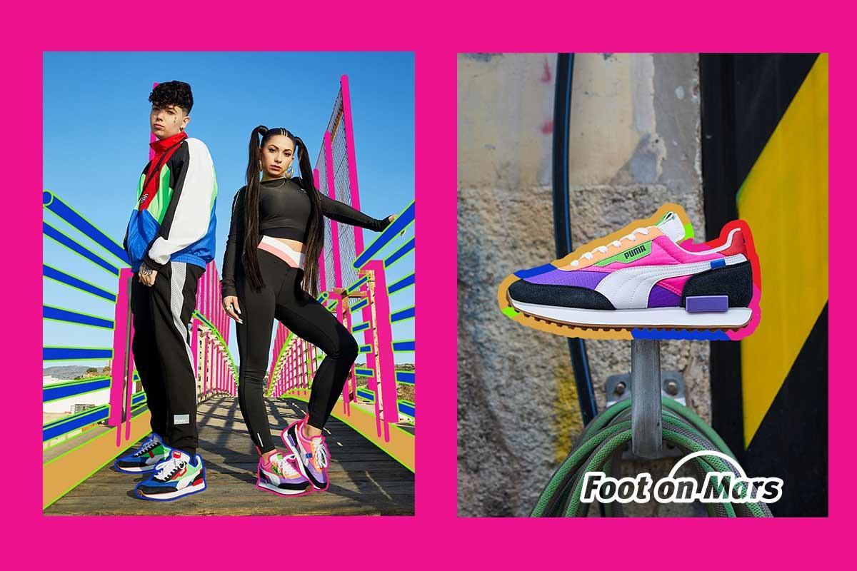 Puma presenta las nuevas zapatillas Future Rider y Style ...