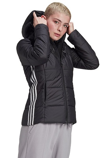 Abrigo adidas SLIM JACKET negro
