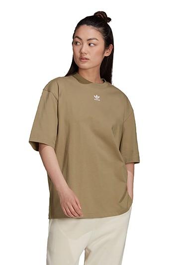 Camiseta adidas LOUNGEWEAR ADICOLOR ESSENTIALS verde