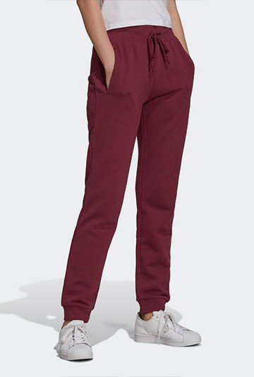 pantalon largo adidas TRACK PANT granate