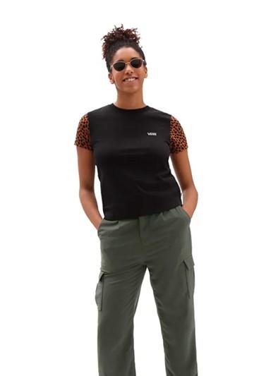 Camiseta Vans WILD COLORBLOCK negra