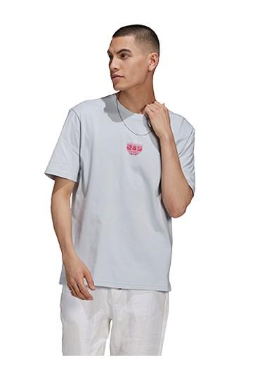 Camiseta adidas ADICOLOR 3D TREFOIL GRAPHIC azul