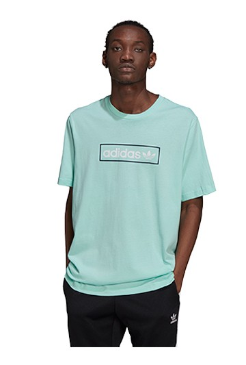 Camiseta adidas LINEAR LOGO TEE azul
