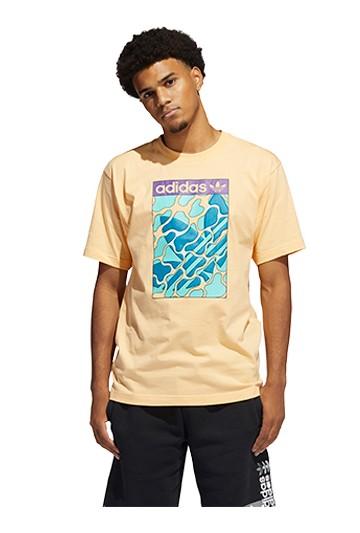 Camiseta adidas SUMMER TONGUE L Naranjas