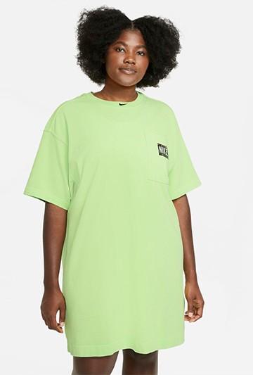 Vestido Nike Sportswear verde