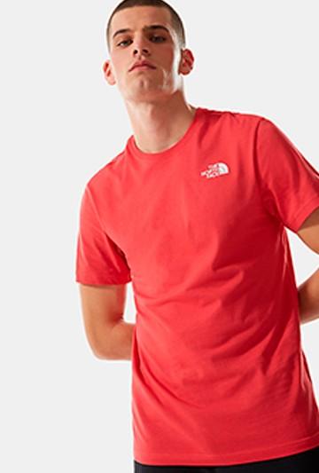 Camiseta The North Face CAMISETA THE NORTH FACE REDBOX TEE ROJA roja