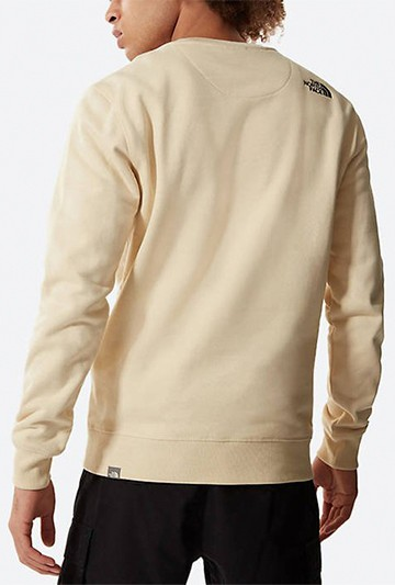 Sudadera The North Face M DREW PEAK CREW LT beige