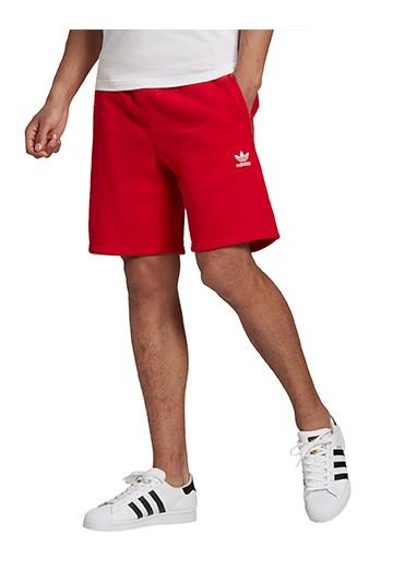 pantalones cortos adidas LOUNGEWEAR TREFOIL ESSENTIALS rojos