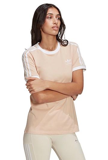 Camiseta adidas ADICOLOR CLASSICS 3 BANDAS rosa