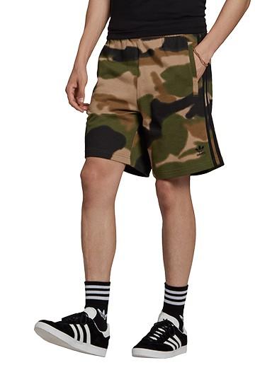 Pantalón adidas CAMO AOP SHORT Camuflaje