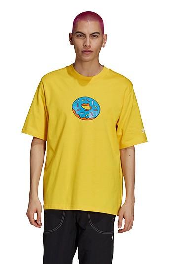 Camiseta adidas LOS SIMPSONS D´OH amarilla