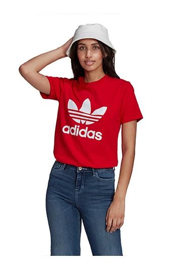 Camiseta adidas ADICOLOR CLASSICS TREFOIL Rojas