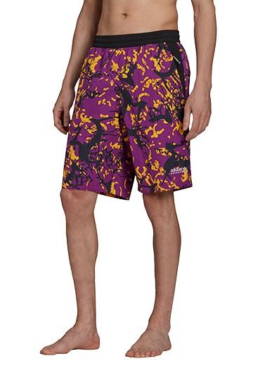 Pantalón adidas ADVENTURE ARCHIVE PRINTED WOVEN morado