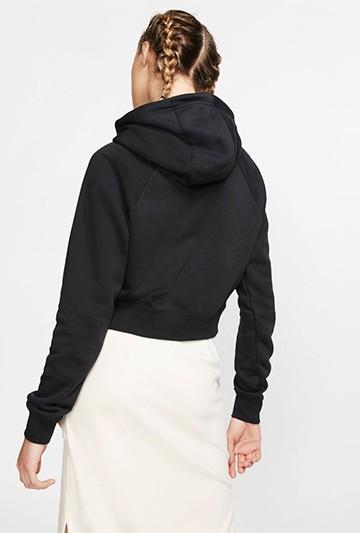 Sudadera Nike Sportswear Essential negra