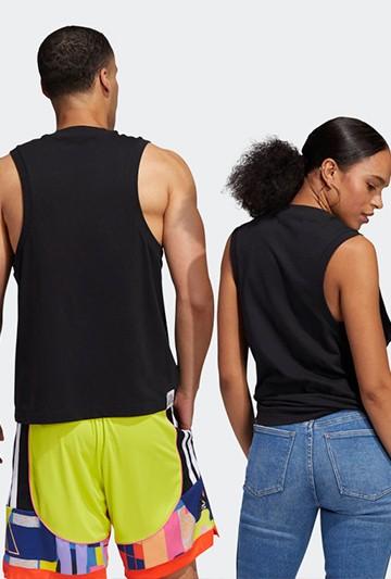 Camiseta adidas LOVE UNITES TANK TOP PRIDE UNISEX negra