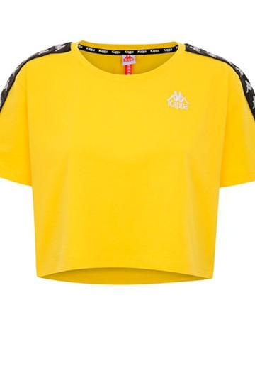 Camiseta Kappa APUA AUTH amarilla