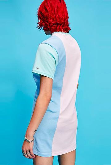 Vestido Tommy Hilfiger TJW COLOR BLOCK Multicolor