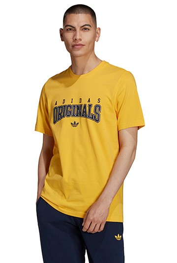 Camiseta adidas SCRIPT Amarilla