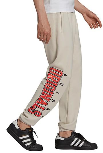 Pantalón adidas SCRIPT beige