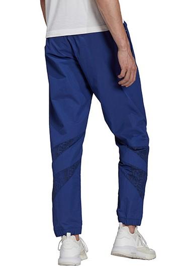 pantalon largo adidas SPRT ANIMAL-PRINT SHARK WOVEN azul