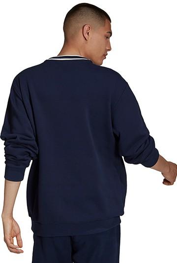 Sudadera adidas SCRIPT CREW Azul Marino