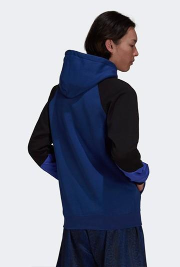 Sudadera adidas SPRT BLOCKED azul