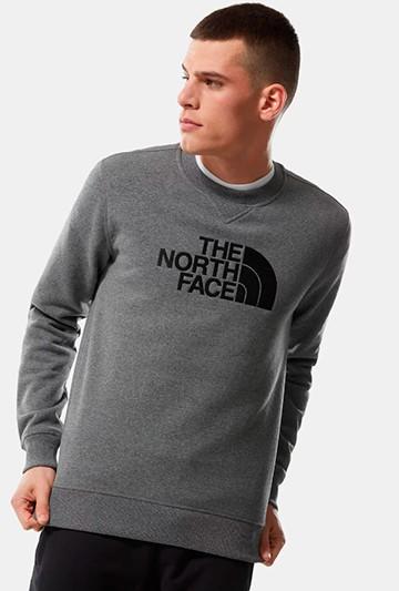 Sudadera The North Face DREW PEAK CREW gris