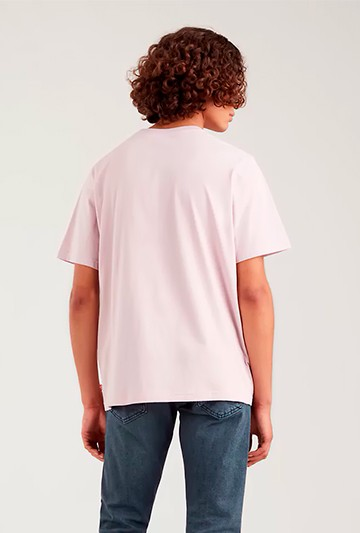 Camiseta Levi's CORTE RELAJADO Rosa