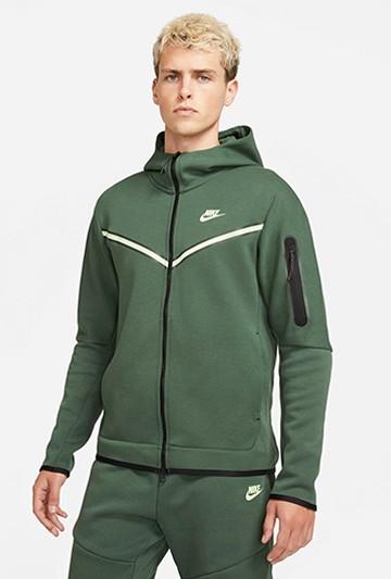 Chaqueta Nike Sportswear Tech Fleece verde