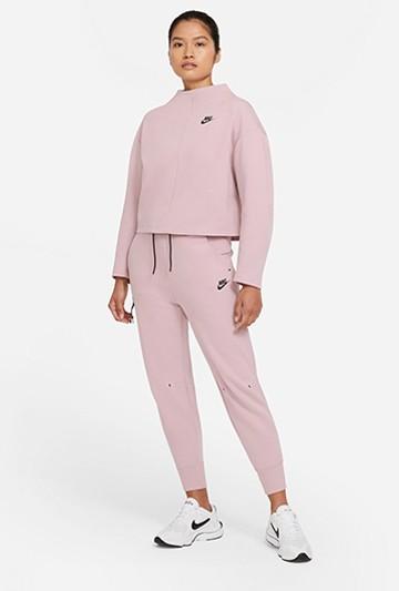 Pantalón Nike Sportswear Tech Fleece rosa