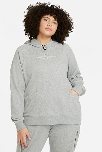 Sudadera Nike Sportswear Swoosh gris