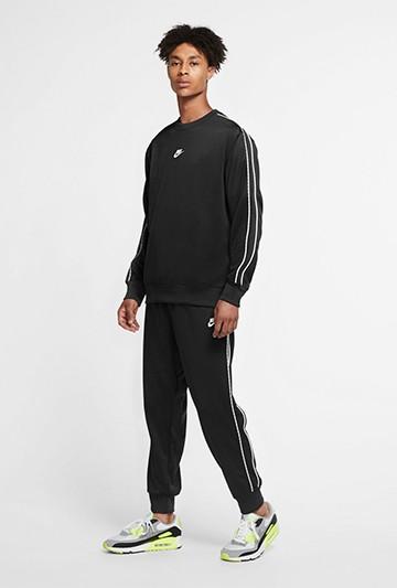 Sudadera Nike Sportswear Crew negra
