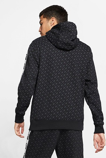 Sudadera Nike SWOOSH negra