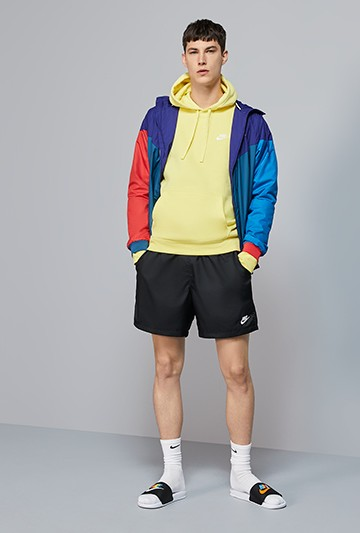 Pantalón Nike Sportswear Woven negro