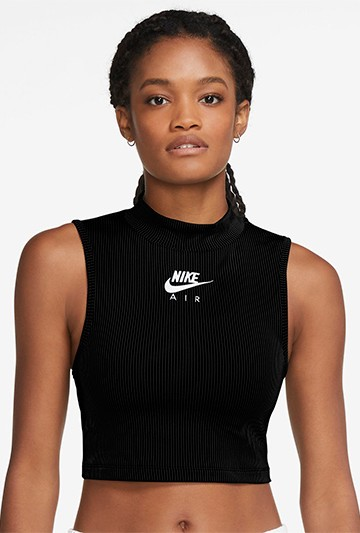 Top Nike Air negro