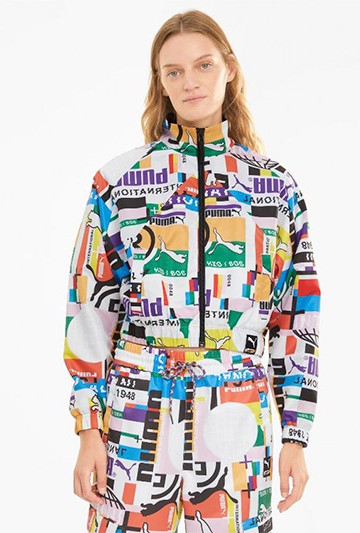 Chaqueta Puma PI AOP WOVENVTRACK Multicolor