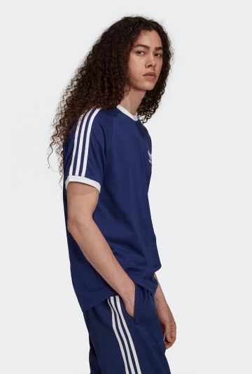Camiseta adidas ADICOLOR CLASSICS 3 BANDAS azul