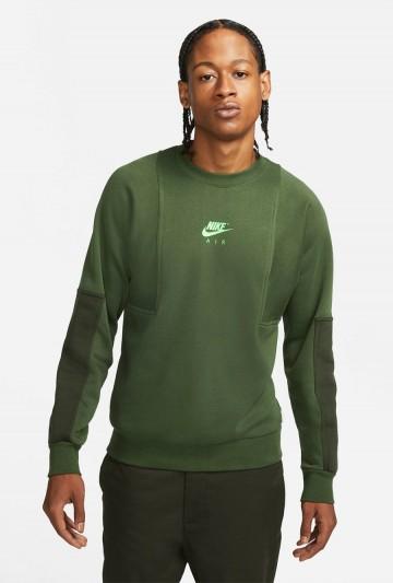Sudadera Nike Air Crew verde