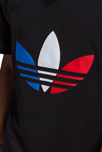 Camiseta adidas TRICOL TEE 2 Negra