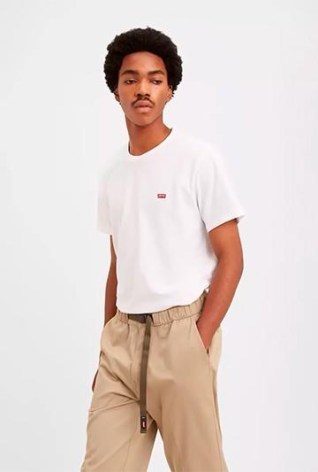 Camiseta Levi's CAMISETA M/C CHICO BLANCA Blanca