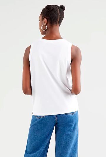 Camiseta Levi's DARA TANK WHITE blanca