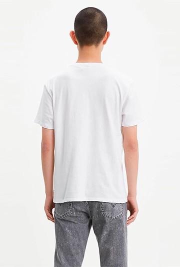 Camiseta Levi's GRAPHIC SETIN NECK HM blanca