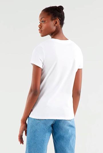 Camiseta Levi's THE PERFECT TEE BATWING blanca