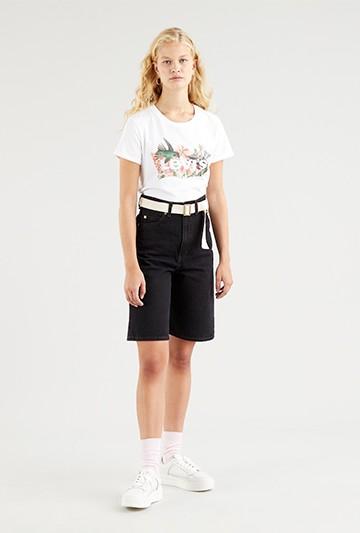 Camiseta Levi´s THE PERFECT TEE SPORTSWEAR LOG blanca