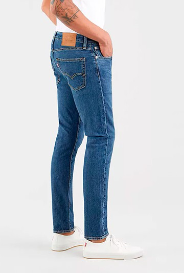Pantalón Levi´s 512 SLIM TAPER WHOOP vaquero