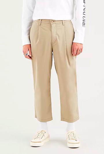 Pantalón Levi's XX STALY LOOSE PLT beige