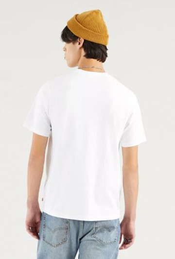 Camiseta Levi's RELAXED FIT TEE blanca
